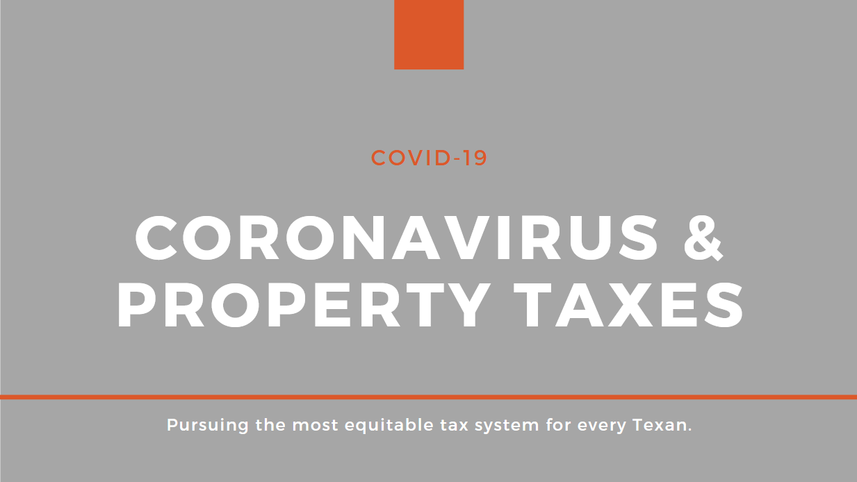 Coronavirus & Property Taxes